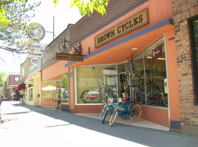 Brown Cycles of Grand Junction, Colorado